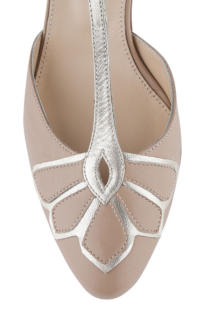 Gardenia Peach By Rachel Simpson Wedding Shoes Leicester Noble And Wright