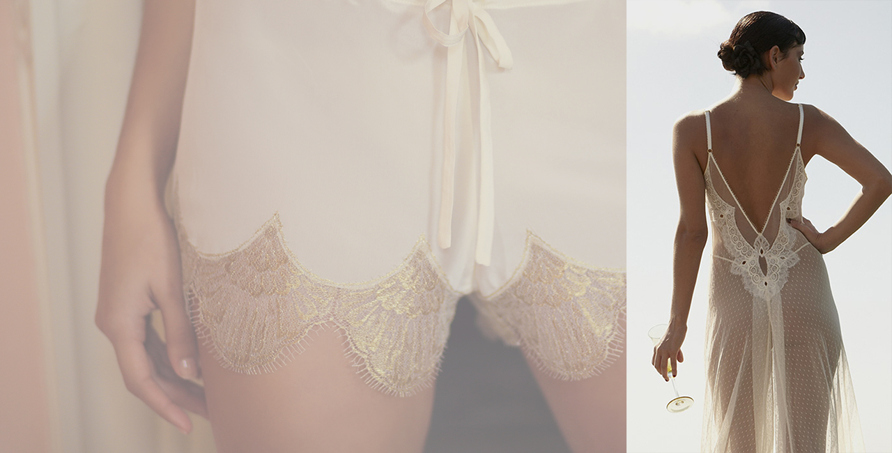 Shell Belle Couture Wedding Lingerie Leicester Noble and Wright