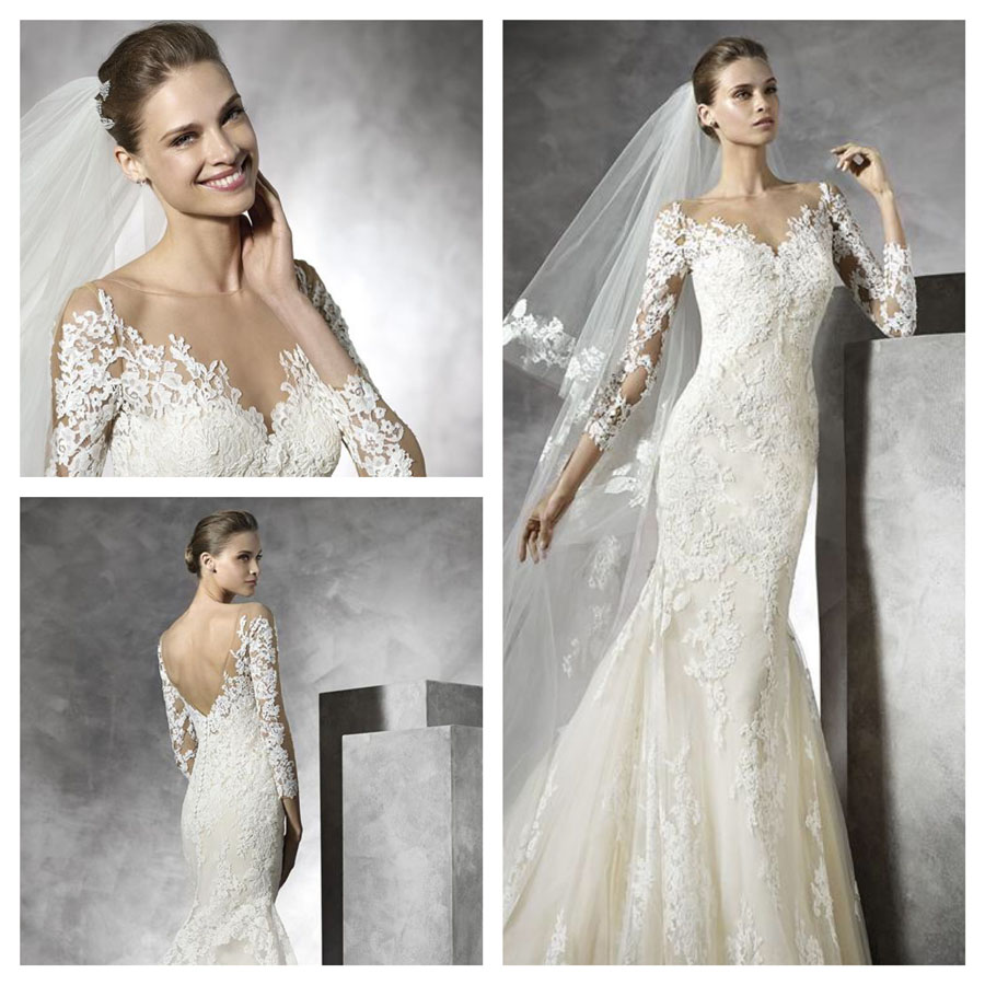 Wedding Dresses Leicester: Tibet By Pronovias Wedding Dress At Noble And Wright