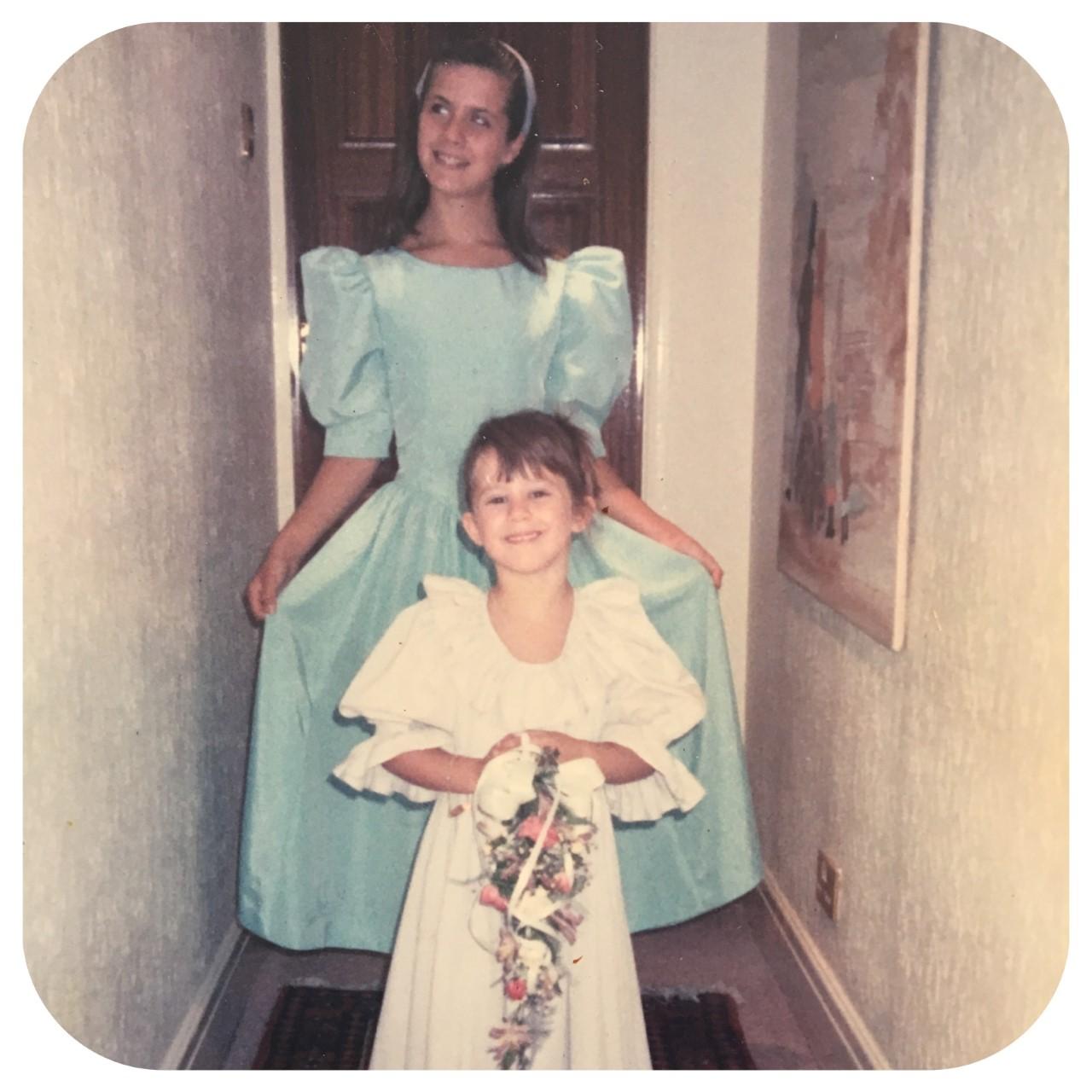Young Hannah And Liz